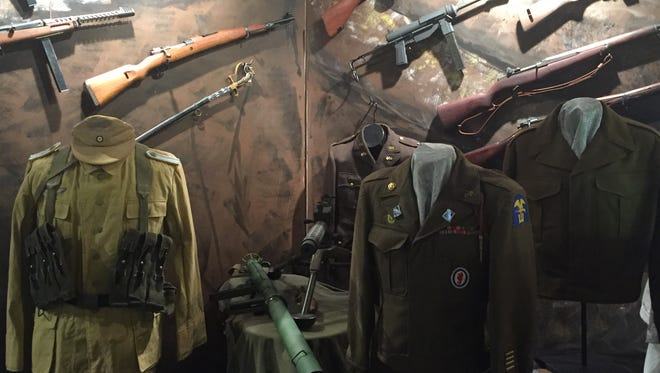 The Works is hosting a World War II exhibit.