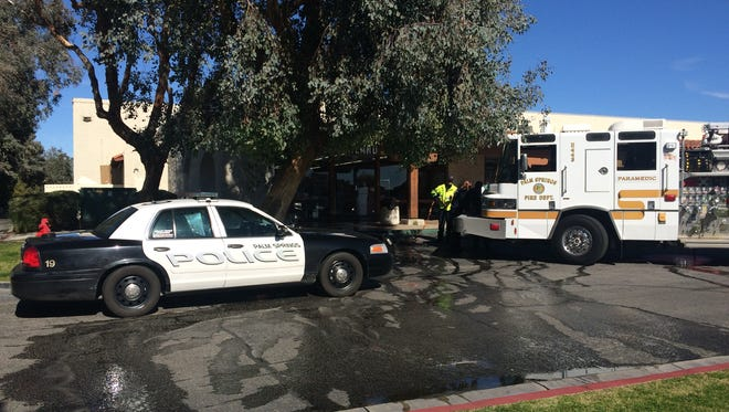 Palm Springs police are investigating a stabbing that occurred in the area of Vista Chino and Sunrise Way Monday.