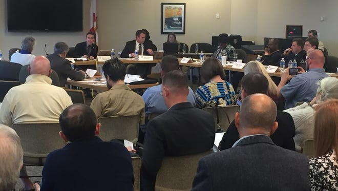 The Pensacola City Council and Escambia Board of County Commissioners held a joint meeting Monday to discuss local projects.