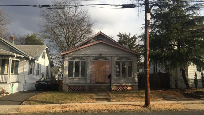 This long-abandoned house in Collingswood will soon be rehabbed by Camden nonprofit St. Joseph's Carpenter's Society.