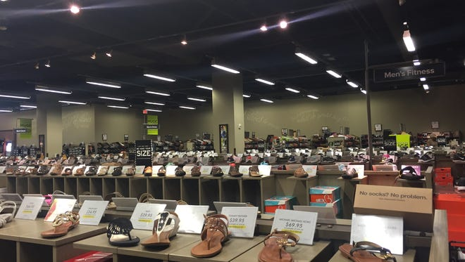 DSW carries thousands of pairs of shoes.