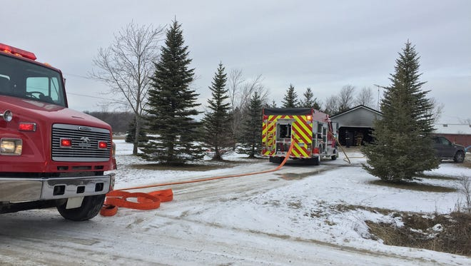 Firefighters were at a residence on Bryce Road.