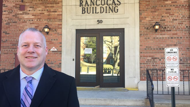 Burlington County Clerk Timothy Tyler will open his office Monday in a new location at 50 Rancocas Road, which has easier public access than the court facility where his office has been located