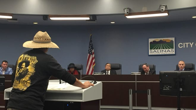 Residents express their concerns over immigration at Tuesday's City Council meeting