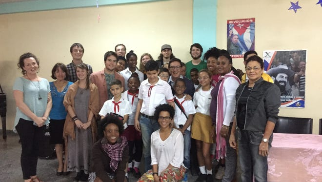 For the first time, Warren Wilson College students stayed with Cuban families during their study abroad travel to the island.