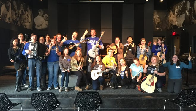 Drake University partnered with Little Kids Rock for a day of modern music making.
