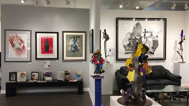 Nan Miller Gallery is hosting a rare collection of artwork.