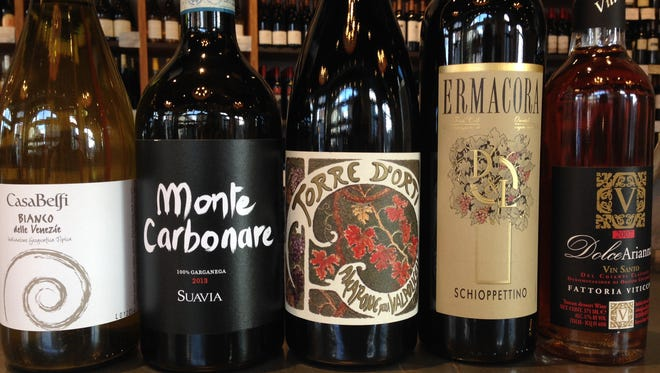 Wines from the Veneto region will be featured at the tasting dinner.