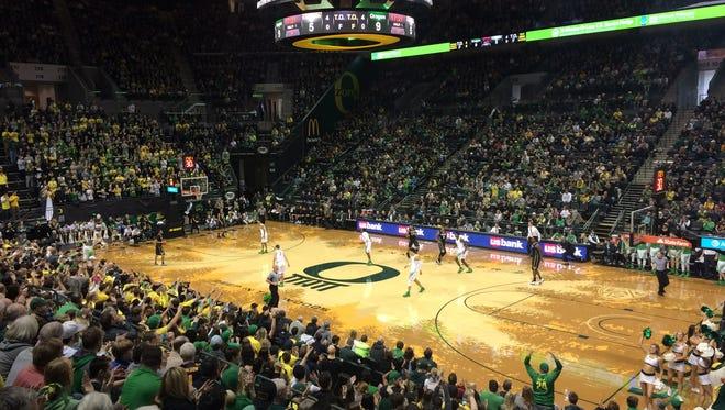 Oregon hosts Colorado.