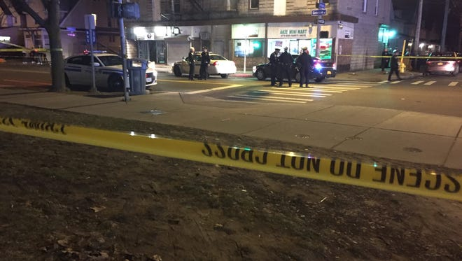 Four people were shot outside 191 Genesee St. in Rochester Wednesday night.
