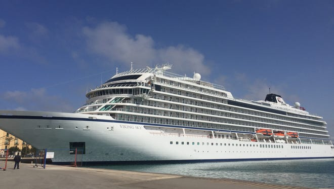 Viking Cruises unveiled its third ocean-going ship, Viking Sky, in February 2017.