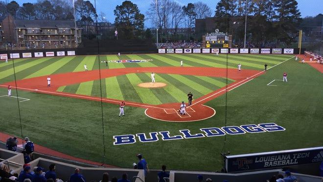 Louisiana Tech hosts No. 24 Arkansas on Tuesday night at J.C. Love Field.