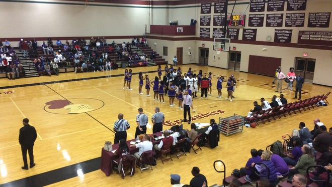 Haywood hung on to beat Douglass by five points in the Region 8-AA boys semifinals on Tuesday at Liberty.