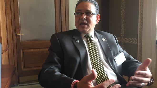 Grambling State University Rick Gallot said it was important for leaders of historically black colleges and universities to meet with White House officials and congressional lawmakers.