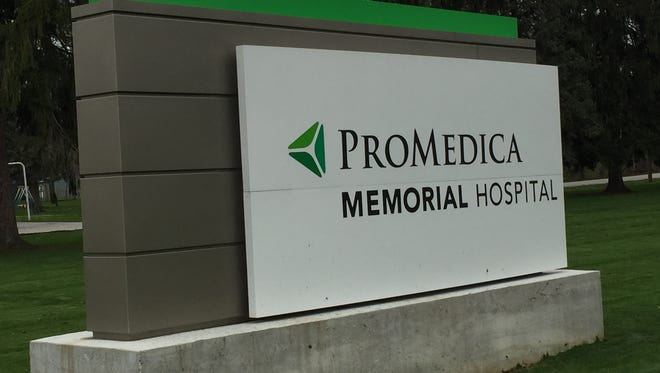 ProMedica Memorial Hospital in Fremont.