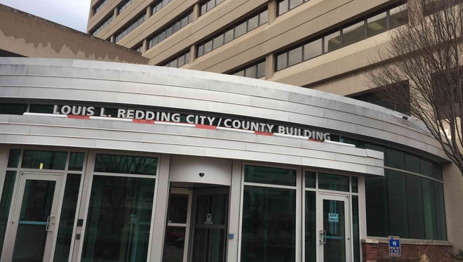 The Louis L. Redding City/County Building houses the mayor's office.