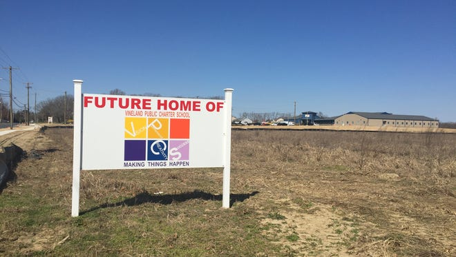 Vineland Public Charter School is building a consolidated campus on Pennsylvania Avenue near South Lincoln Avenue in Vineland.