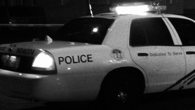 El Paso police patrol car
