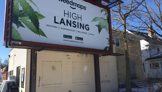 The website weedmaps.com has several billboards in Lansing and lists nearly 50 medical marijuana establishments in the city. City Council could vote this spring on an ordinance that regulates these establishments.
