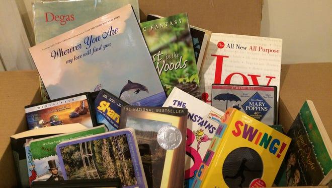 The Millburn Library's got books!
