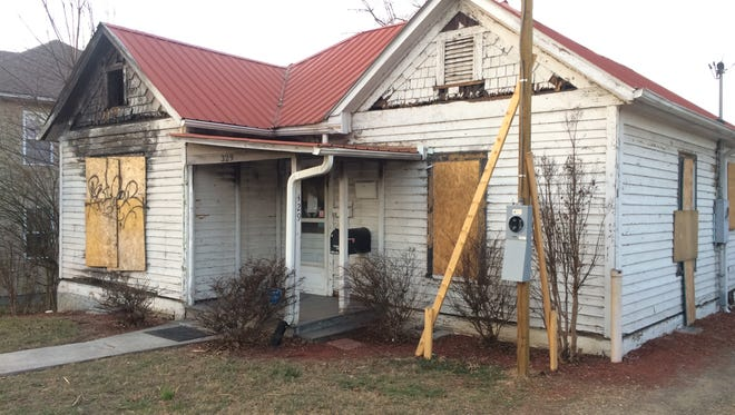 The former offices for the I Buy Homes business on Haywood Road in West Asheville will be renovated, according to a work permit.