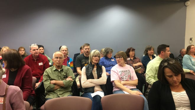 The Ankeny City Council was packed as the council voted to pass opting out of Polk County's minimum wage.
