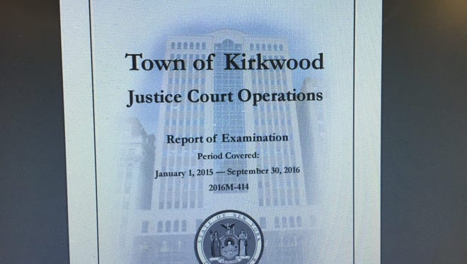 An audit of the Town of Kirkwood from the New York State Comptroller's Office.