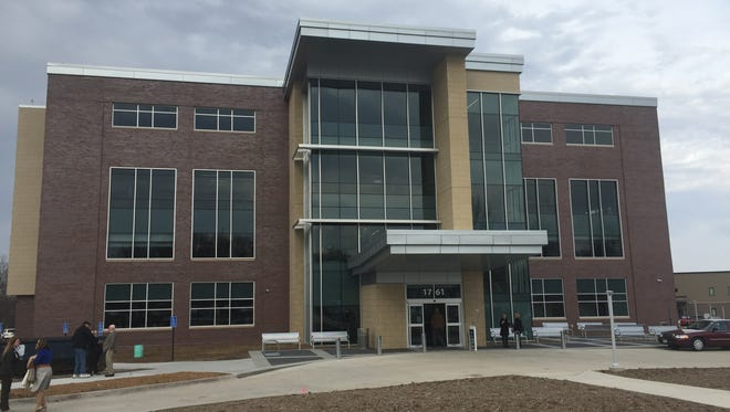 Broadlawns Medical Center's new $22 million, four-story addition houses dental, mental-health, addiction treatment, pain medicine and family practice programs.