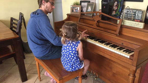 "She wanted Sawyer to play ""Let it go"" from Disney's ""Frozen"" on the piano, so she could sing along."