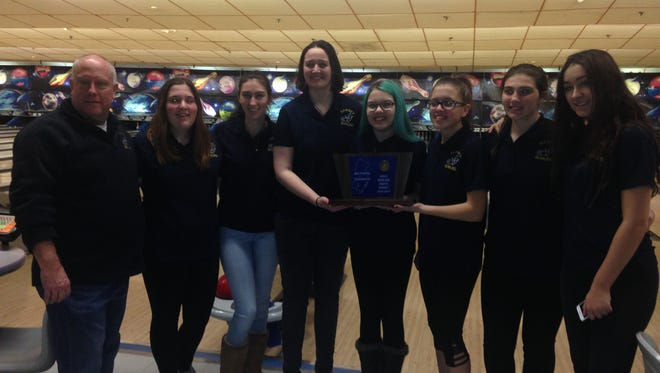 Coach Bill Chesney guided Ramsey girls bowling to a state sectional championship.