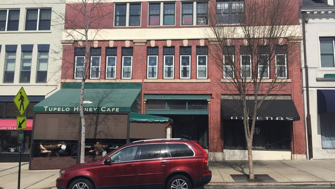 Tupelo Honey Cafe will soon take over the entire first floor of this downtown Asheville building.