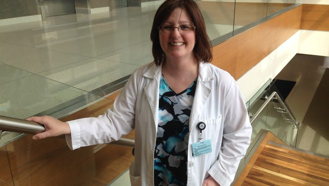 Battle Creek native Tracy Bradstreet is now a family nurse practitioner at Borgess Health Park.