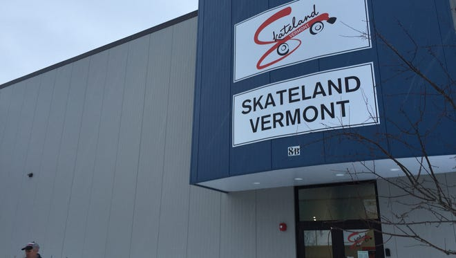 Skateland Vermont is located near Lowe's Home Improvement in Essex.