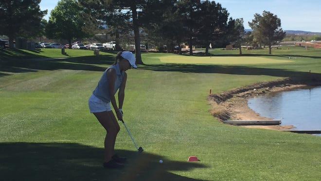 Snow Canyon's Lexi Hamel won Thursday's Region 9 tournament at Southgate Golf Club.