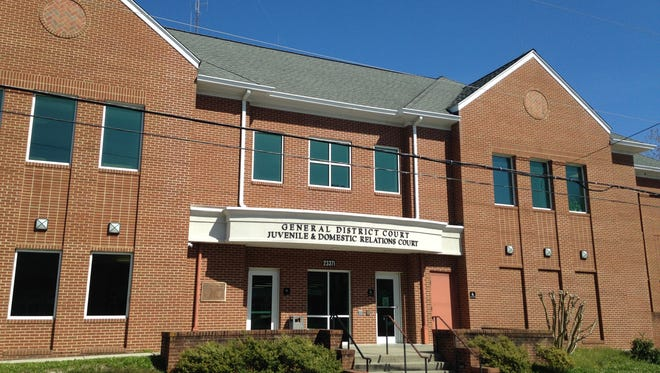 The Accomack County General District Courthouse in Accomac, Virginia