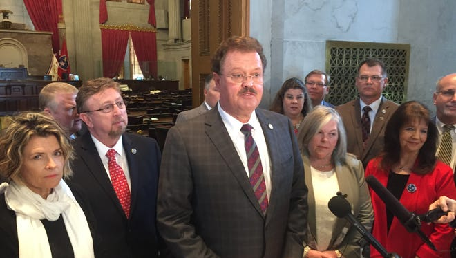 A group of House Republicans, led by Rep. Jerry Sexton, R-Bean Station, asked the chamber's leadership to hit the reset button on Gov. Bill Haslam's gas tax proposal.