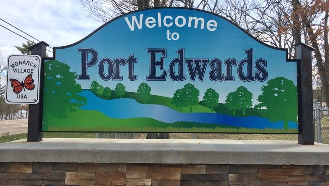 Village of Port Edwards sign
