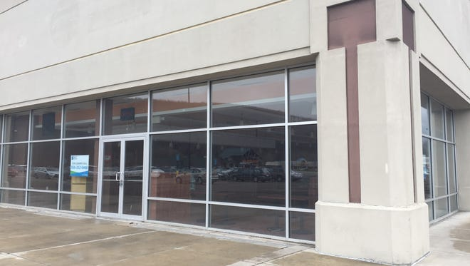 Moe's Southwest Grill could move into this vacant space in Consumer Square in Big Flats, town officials say.