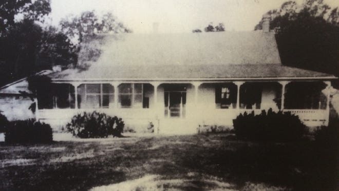 The Kenilworth Plantation home in Tensas Parish as it appeared in the 1920s.