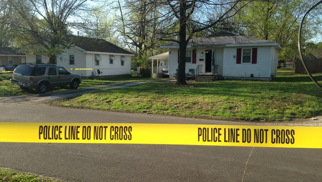 Police say two people were shot Saturday morning on Calhoun Street in Springfield.