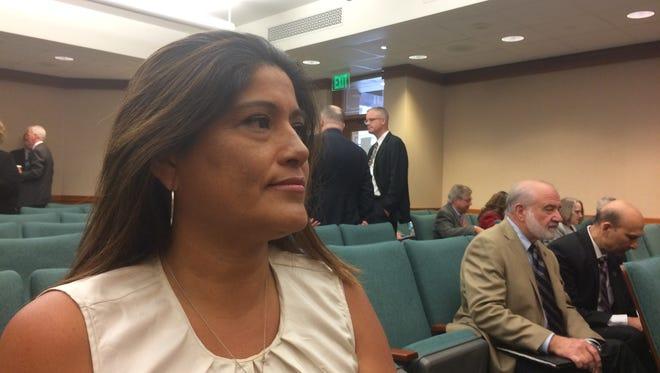Iraq War veteran Anne Marie Torres plans to transfer her Hazlewood benefits to her daughter.