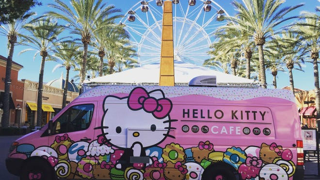 Hello Kitty Food Truck
