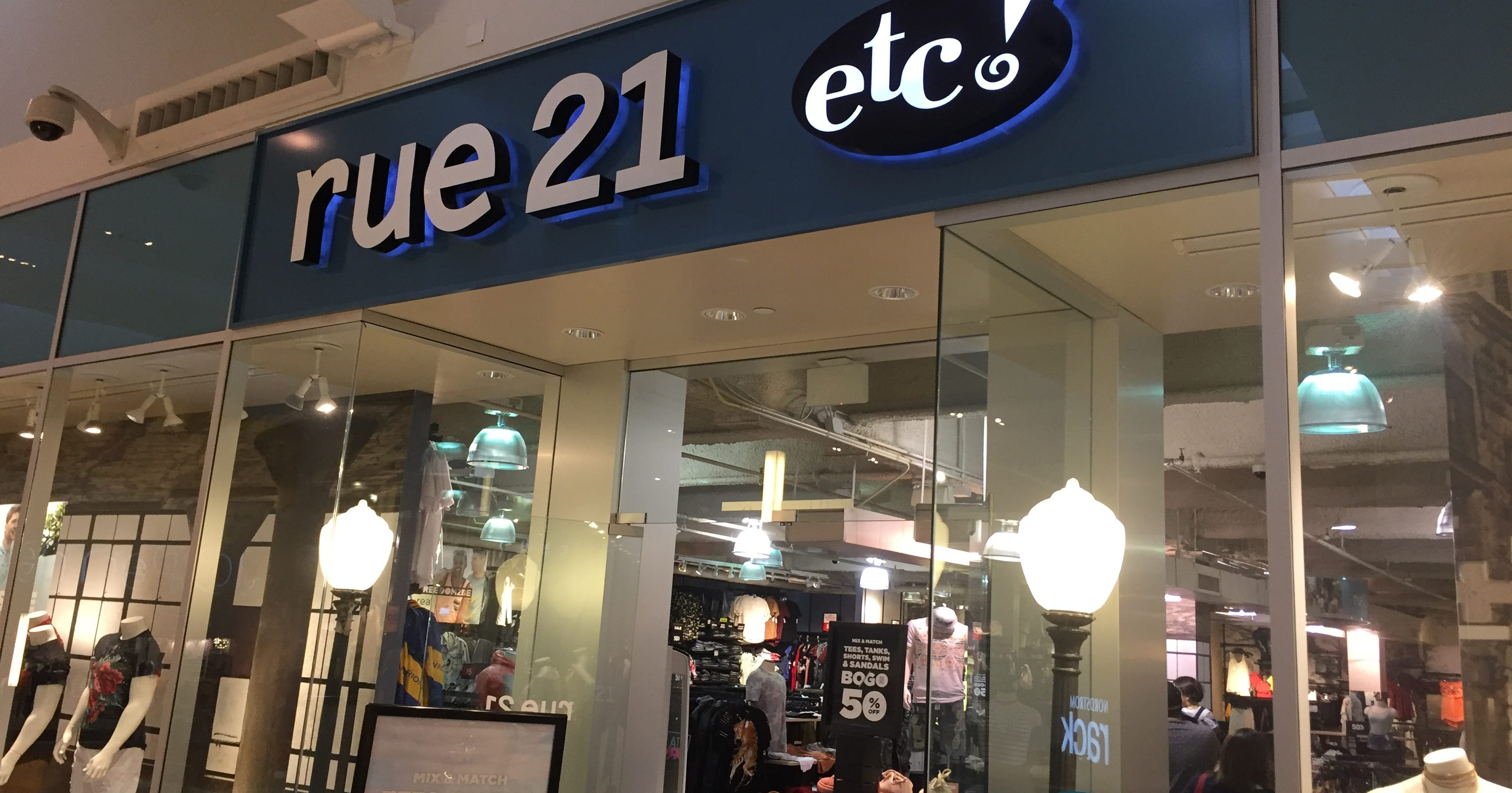 Ford Mall Of Ga >> Rue21 files for Chapter 11 bankruptcy as shopping mall ...