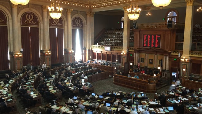 The Iowa House of Representatives