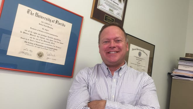 Rob Manning recently opened Manning Law in Suntree