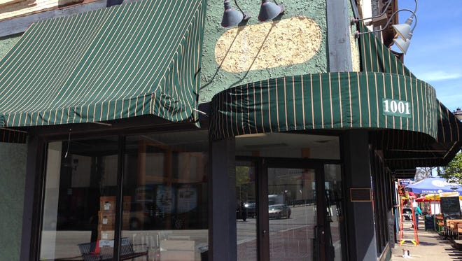 Signs have already been removed from the Cousins Subs restaurant at N. 1001 Old World Third St.