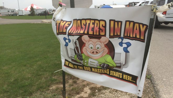 Masters In May in Appleton is one of the biggest Kansas City Barbecue Society sanctioned competitions in Wisconsin.
