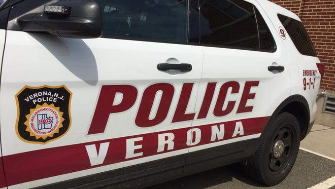 Verona police vehicle.