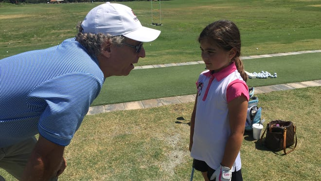 Impact Zone Golf's first free junior golf expo was on Saturday, April 23, 2016, at Tiburón Golf Club. More than 200 came to the expo to participate in clinics, hear from Impact Zone founder Bobby Clampett and his staff, and PGA Tour pro Dudley Hart. There also was a trick-shot clinic.