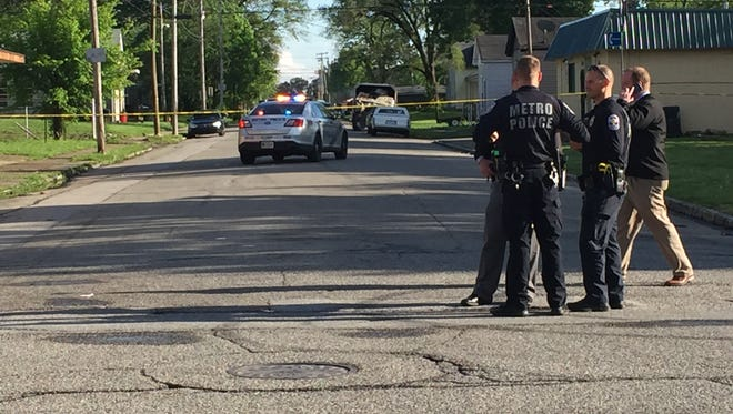 Louisville Metro Police are investigating a homicide Saturday in the Chickasaw neighborhood.